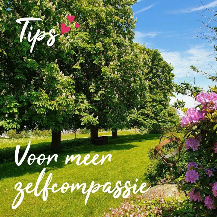 Tips voor meer zelfcompassie
